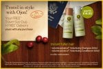 Ojon -  Free Travel size  shampoo and conditioner (worth £14.00) with every purchase