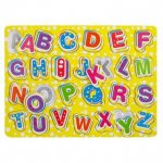 Wooden Letters and Numbers Board for Kids £1 @ Poundland
