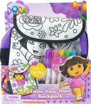 Add on item.Dora Colour In Backpack Dora the Explorer +5x colouring markers  85% off delivered at Amazon - £3.04