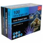 100 ICICLE SCULPTURE LIGHTS £14.99 @ PoundStretcher