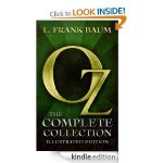 OZ Complete Collection 14 books for 77p @ Amazon Kindle Store