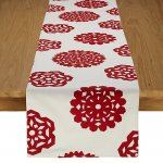 Snowflake Table Runner - £5 @ John Lewis