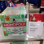 Monopoly classic only £6.99 (normally £16.99) @ Fenwick Newcastle