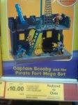 Scooby Doo Pirate Fort mega set. £10.00 @ Tesco instore