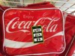 Coca-Cola lunch bag 87p at Dunelm
