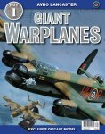 Giant Warplane Collection issue 1 with diecast Lancaster Bomber 1:144 scale £1.99