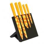Orange Magnetic 5 Piece Knife Block @ Dunelm was £19.99 now £9.99