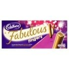 Cadbury's Fabulous Fingers £1 at Sainsburys online and instore