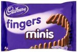 Cadbury Mini Chocolate Fingers 40 g (Pack of 24) - £6.89 @ Amazon (28p a packet!) - Add on Item