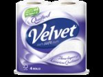 Quilted Velvet 3 Ply Toilet Tissue 9 Rolls - £2.25 @ Co-op