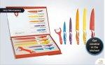 Six-piece Swiss Line ceramic knife set (Seleccion de Producto) £12.00 with 4.99 P&P = £16.99 @ KGBDeals