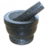 Granite Pestle & Mortar Set £4.74 free reserve and collect donw from £5.99 @ Dunelm Mill