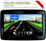 TOMTOM Via 135 GPS Sat Nav with free Lifetime Maps for £99.99 was £199.99 @ Currys