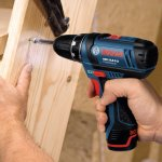 Bosch 10.8v gsr cordless drill driver with 2 x 2.0Ah li-on batteries £102 from ffx.co.uk