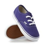 Kids Unisex Vans Purple Iris/True White Canvas Trainers Amazon From £6.56