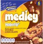 McVitie's Medley Hobnobs (6 x 30g) was £1.89 now £1.00 @ Waitrose