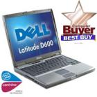 dell d600 latitude d600 laptop, 14 inch, usb2,dvd rom, wifi, intel centrino 1,4ghz, 512mb ram, £189 + delivery @ bigpockets