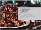 Tesco Instore only : Tesco Finest 907g Christmas Pudding with Courvoisier Cognac, was £8 now