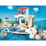 Playmobil Harbor Police Station with Speedboat 5128 £20