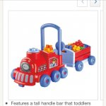 Push along toy at tesco direct was £29 now £8.37