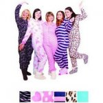 2 fleece onesies £10 in store or £12.95 delivered from Qd stores