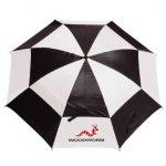 Woodworm Golf Premium Double Canopy Golf Umbrella 3 Pack £9.99 @ Amazon