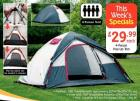 4-Person Pop-Up Tent £29.99 @ Netto!