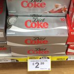 10 x Cans of Coke (Regular, Diet and Zero) £2.99 at Poundstretcher