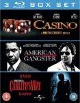 American Gangster/Carlito's Way/Casino (Blu Ray Boxset) £6 Delivered @ Sainsburys Entertainment