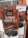 Harris Victory Ultimate Garden Set Was £30 Now £10 @ B&Q Instore