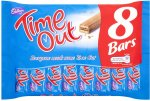 Cadbury Time Out (8 x 16g) was £1.50 now £1.00 @ Sainsbury's