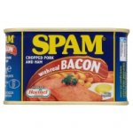 Spam  chopped Ham and pork with REAL bacon 200g £1.79 @ Asda