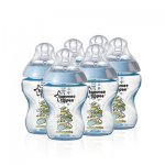 Tommee tippee 6 pack decorated blue bottles £6.50 in store Morrisons