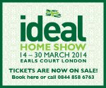 free tickets for ideal home show - london