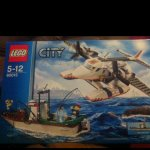 Lego City Coast guard plane and boat scanning at £10.49 @ sainsburys