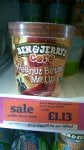 Ben & Jerry's Core Ice Cream Peanut Butter Me Up at Sainsbury's 500ml £1.13 was £4.50