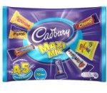 ASDA - Cadburys Maxi Mix pack of 42 treatsize bars crunchie, buttons, fudge, curly wurly, chomp, cadburys caramel and jelly babies £1.00