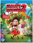 Cloudy With A Chance Of Meatballs 2 [Blu-ray+Ultraviolet] £12.99 @ sainsburys
