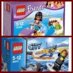Lego friends and lego city little packs. Bentalls Kingston upon Thames  £2.49
