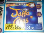 Jaffa Cakes 36 pk £1.19 @ JTF Mega Discount Warehouse