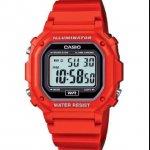 Casio Red Resin illuminator Watch (F-108WHC-4ACF) RRP £24.95 now £5 @ BOYES