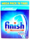Finish Powerball Classic Dishwasher Tablets 76 Pack @ Approved Foods £9.99