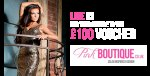 Win a £100 Pink Boutique Voucher @ TFM (FB Like Required)