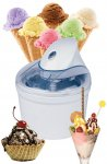 Ice Cream, sorbet, Italian Gelato and frozen yoghurt Maker Machine 1.5 Litre - £16.99 Sold By Electro World @ Amazon