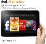 Kindle fire HD 8.9 £127.20 @ Amazon