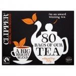 Assorted packs of Clipper Tea from 70p @ Tesco