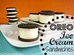 Oreo Ice Cream Sandwiches £3.00 @ Sainsburys