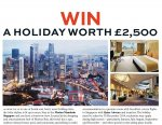 Where are you April 2014: Win a holiday to Singapore worth £2,500 and an entry into the Grand Prize draw @ Conde Nast Traveller