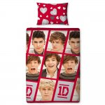 One Direction Boyfriend Reversible Duvet Cover Set Single £9 @ Amazon (Free Delivery for Prime or £10+ Spend)