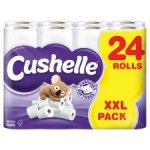Cushelle Bathroom Tissue 48 rolls (2 x 24) for £11.99 (£9.99 + VAT) equivalent to 25p a roll @ Makro from 5th March
